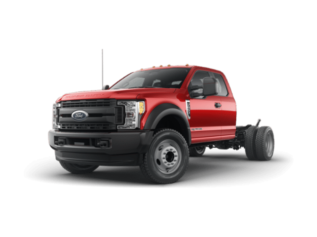 2019 Ford F-550 Chassis 4X4 S/CAB Chas CAB Commercial-truck